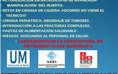 II JORNADA DE TRAUMATOLOGÍA PARA INSTRUMENTADORES QUIRÚRGICOS
