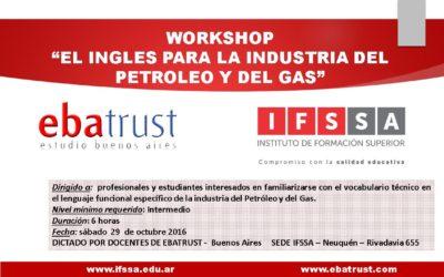 """WORKSHOP """"El Inglés para la Industria del Petróleo y del Gas"""""""