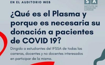 ¿Qué es el Plasma y porqué es necesaria su donación a pacientes de Covid-19?